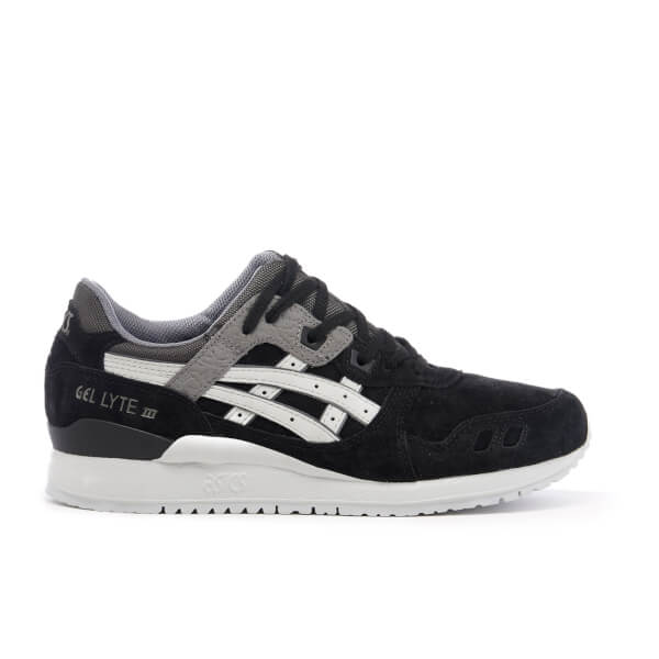 Asics Men's Gel-Lyte III Trainers - Black/Soft Grey