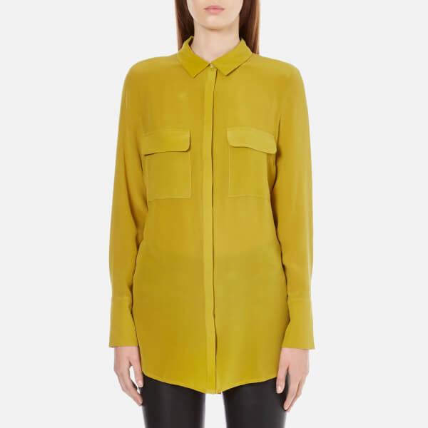 Gestuz Women's Vega Shirt - Golden Palm
