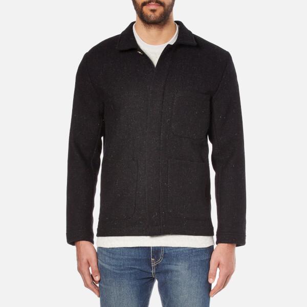 A Kind of Guise Men's Harris Tweed Teheran Jacket - Black Melange