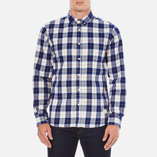 Penfield Men's Pearson Check Shirt - Navy