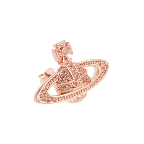 504342a14e Vivienne Westwood Jewellery Women's Mini Bas Relief Pierced Earrings - Silk  Crystals: Image 2