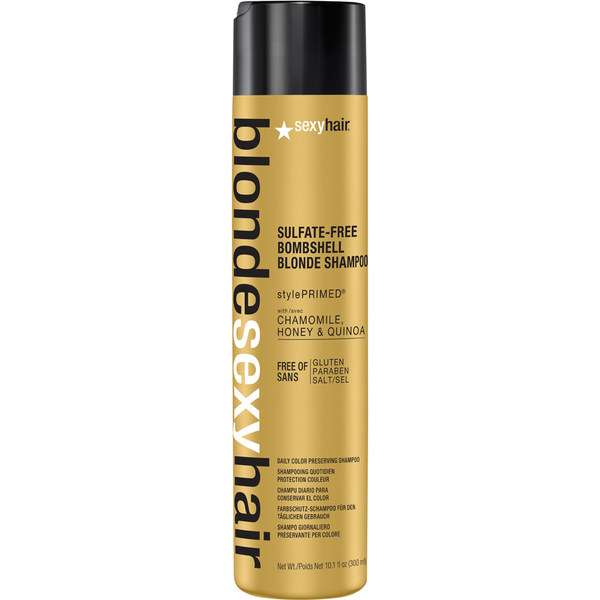 Sexy Hair Blonde Bombshell Blonde Shampoo 300ml
