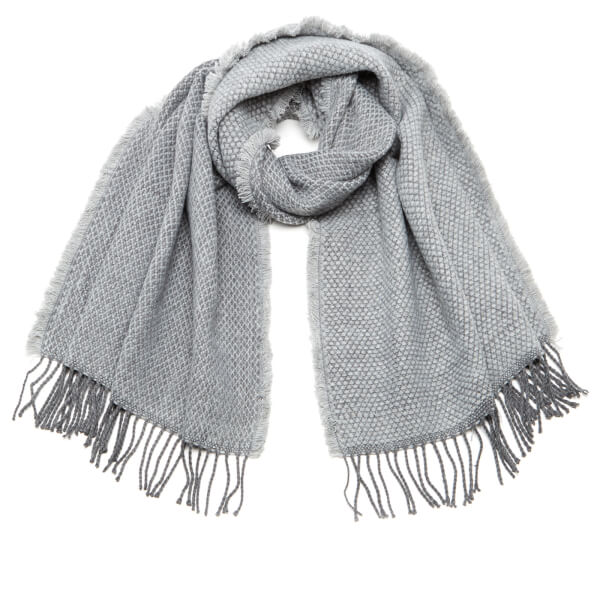 Vero Moda Women's Louisa Long Scarf - Light Grey