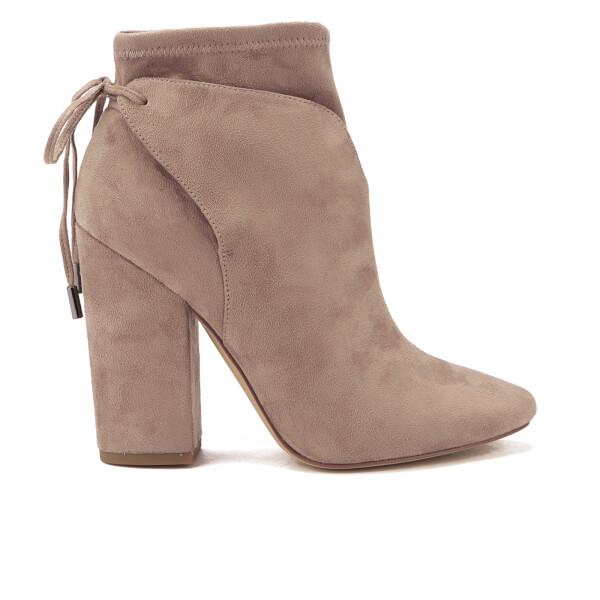 Kendall + Kylie Women's Zola Suede Heeled Ankle Boots - Dark Modern Beige