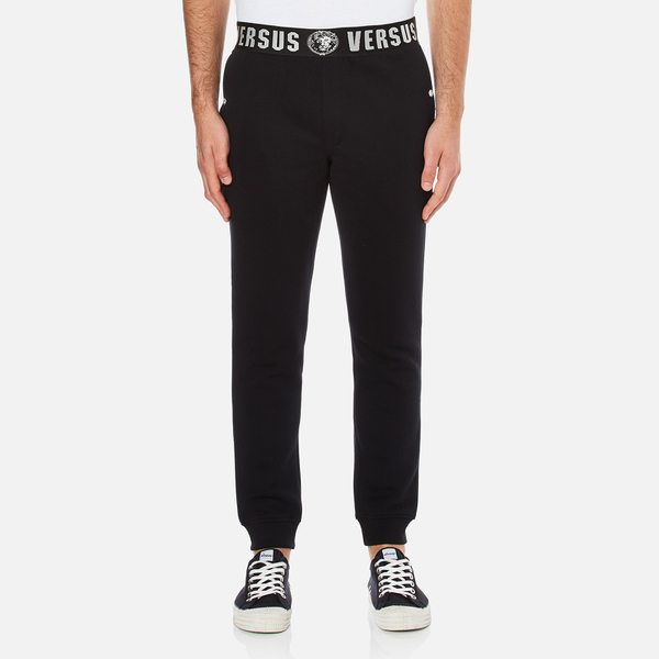 Versus Versace Men's Waist Detail Jogging Pants - Black