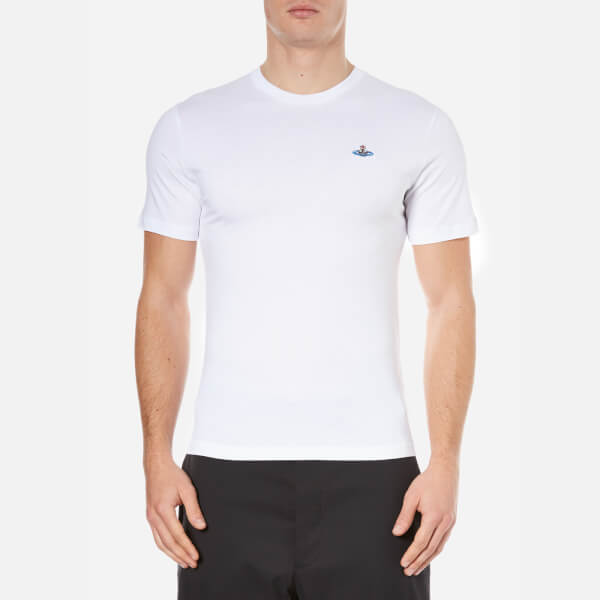 Vivienne Westwood MAN Men's Basic Jersey T-Shirt - White