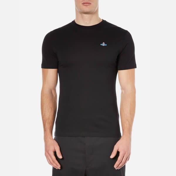 Vivienne Westwood MAN Men's Basic Jersey T-Shirt - Black