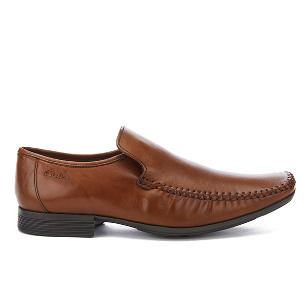 Clarks Men's Ferro Step Leather Loafers - Tan