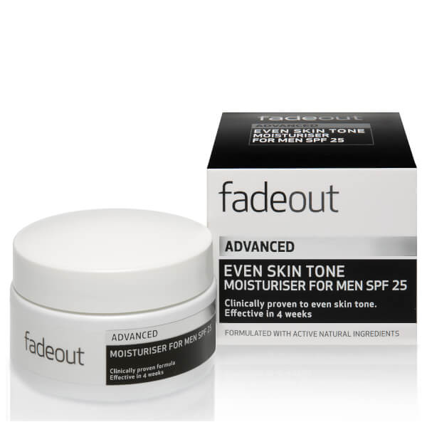 Fade Out ADVANCED Even Skin Tone Moisturiser for Men SPF 25
