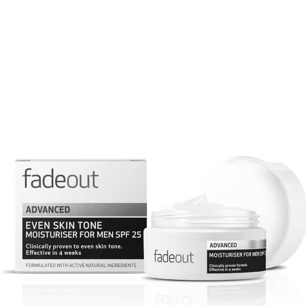Fade Out ADVANCED Even Skin Tone Moisturizer for Men SPF 25