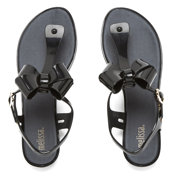 Melissa Women's Solar Bow Sandals - Black