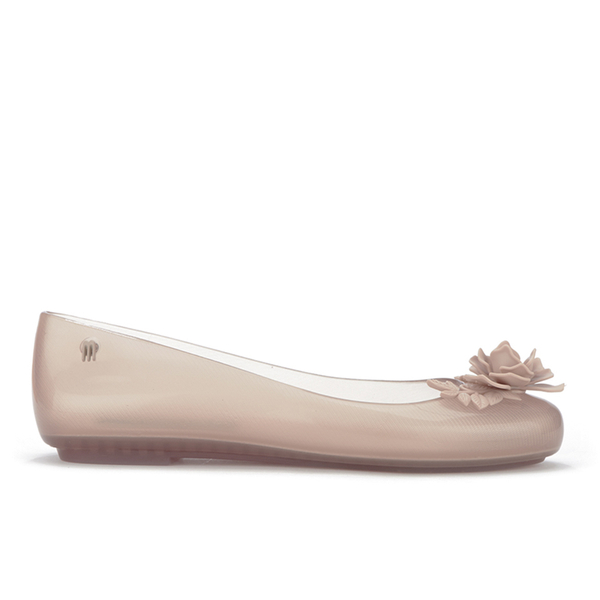 Alexandre Herchcovitch for Melissa Women's Space Love Flower Ballet Flats - Champagne