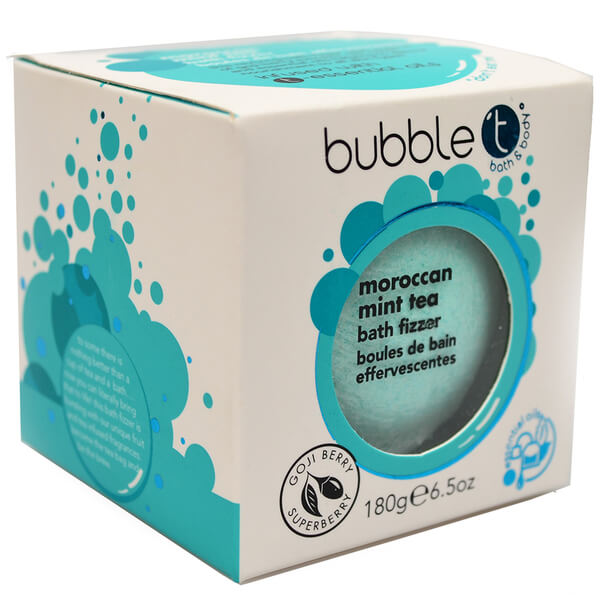 Bubble T Bath Fizzer - Moroccan Mint Tea 180 g