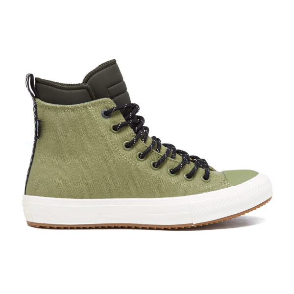 50615c731c9 Converse Men s Chuck Taylor All Star II Shield Canvas Hi-Top Trainers -  Fatigue Green