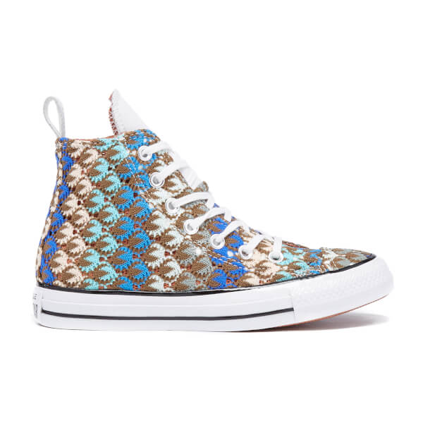 Converse X Missoni Women's Chuck Taylor All Star Hi-Top Trainers - Multi/White/Black