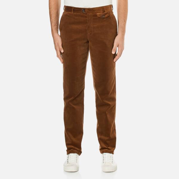 Oliver Spencer Men's Fishtail Trousers - Cord Ginger