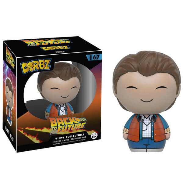 Back To The Future Marty Mcfly Dorbz Vinyl Figure Pop In