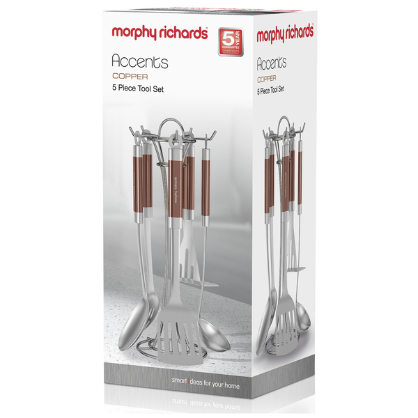 Morphy Richards Red Kitchen Accessories: Morphy Richards 975055 5 Piece Tool Set
