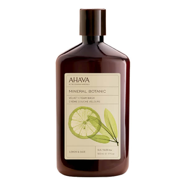 AHAVA Mineral Botanic Velvet Cream Wash - Lemon and Sage