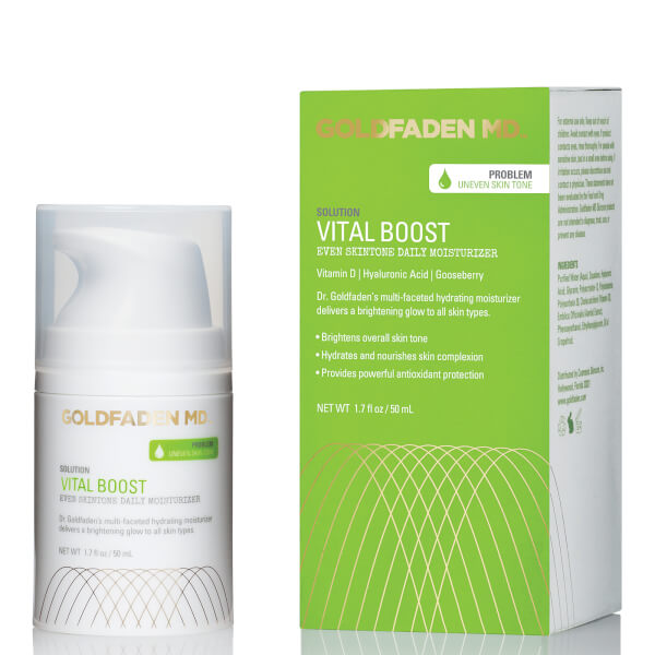 Goldfaden MD Vital Boost Even Skintone Daily Moisturizer