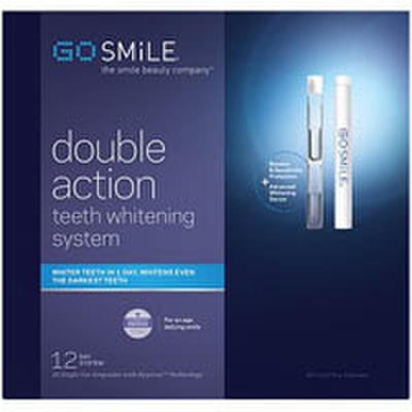 GoSMILE Double Action Whitening System - 12 Days