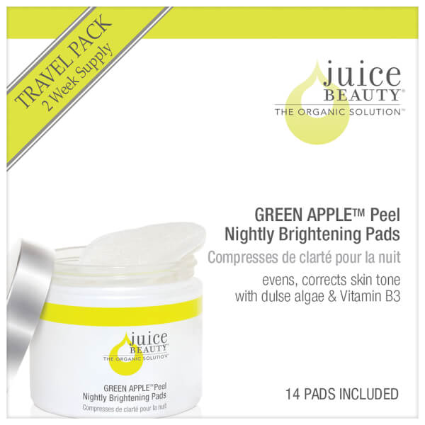 Juice Beauty Green Apple Peel Nightly Brightening Pads - Travel Size