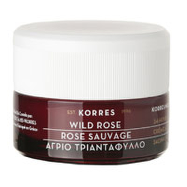 KORRES Wild Rose 24-Hour Moisturizing and Brightening Cream