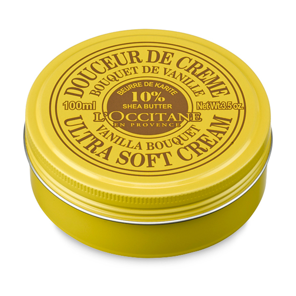 L'Occitane Shea Butter Ultra Soft Cream - Vanilla Bouquet