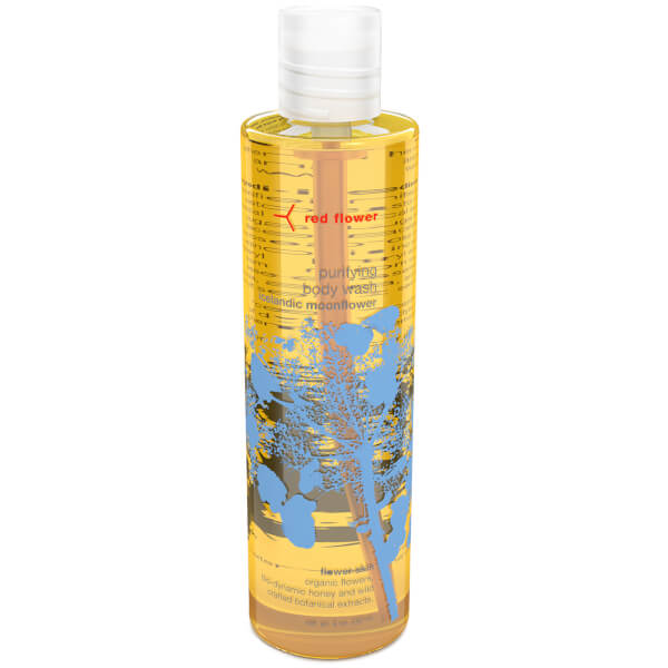 Red Flower Icelandic Moonflower Purifying Body Wash
