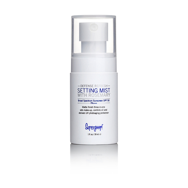 Supergoop! Defense Refresh Setting Mist SPF 50