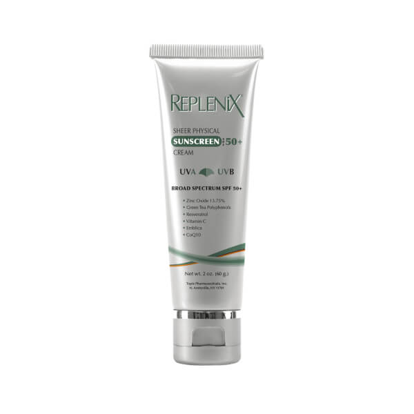 Replenix Sheer Physical Sunscreen Cream SPF 50