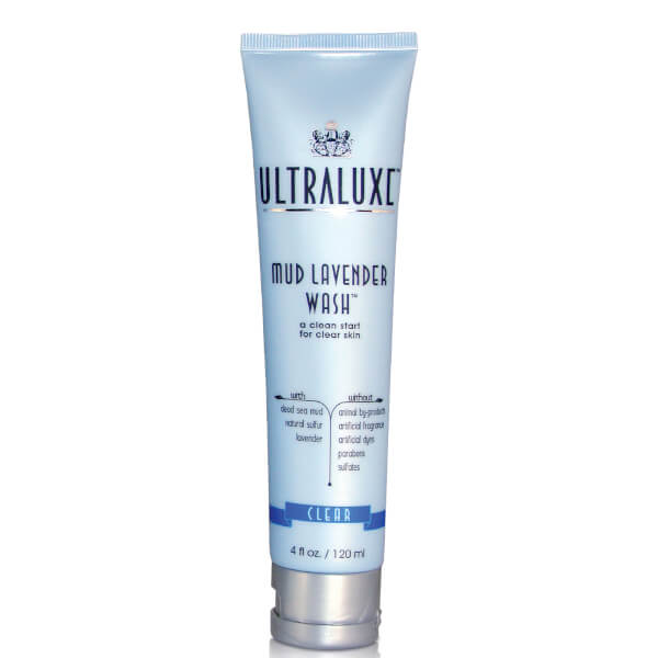 UltraLuxe Mud Lavender Wash - Clear