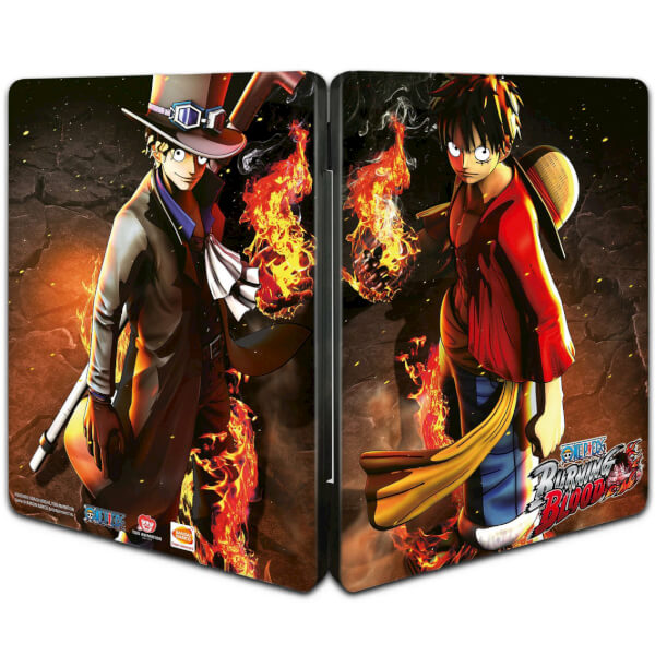 One Piece Burning Blood - Limited Steel Tin Edition