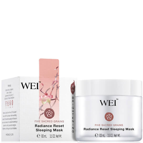 WEI Five Sacred Grains Reset Sleeping Mask