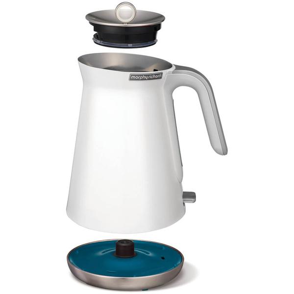 morphy richards aspect steel 4 slice toaster and kettle. Black Bedroom Furniture Sets. Home Design Ideas