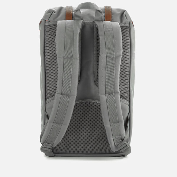 Herschel Supply Co. Little America Backpack - Grey Tan Synthetic Leather   Image 6 52b3b1379853d