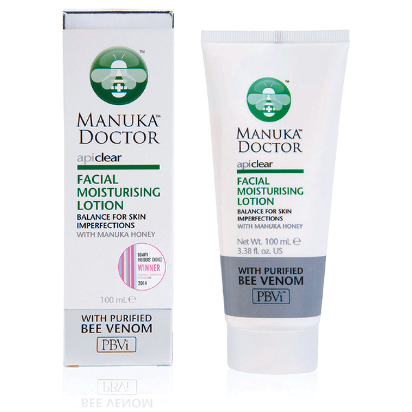 Manuka Doctor ApiClear Facial Moisturizing Lotion 100ml