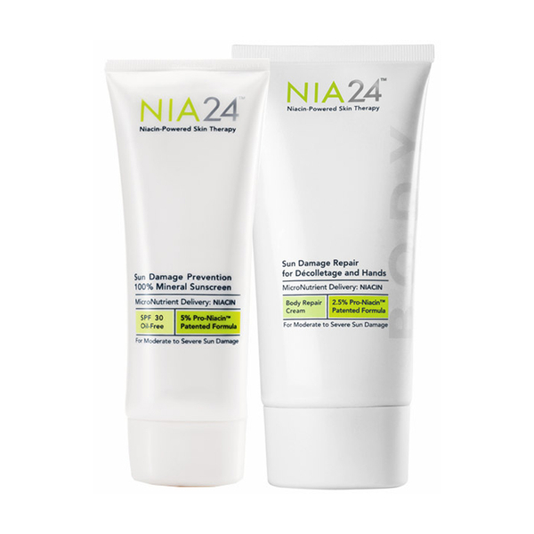 NIA24 Sun Damage Prevent and Repair Duo