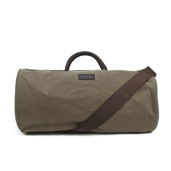 Barbour Men's Wax Holdall Bag - Natural