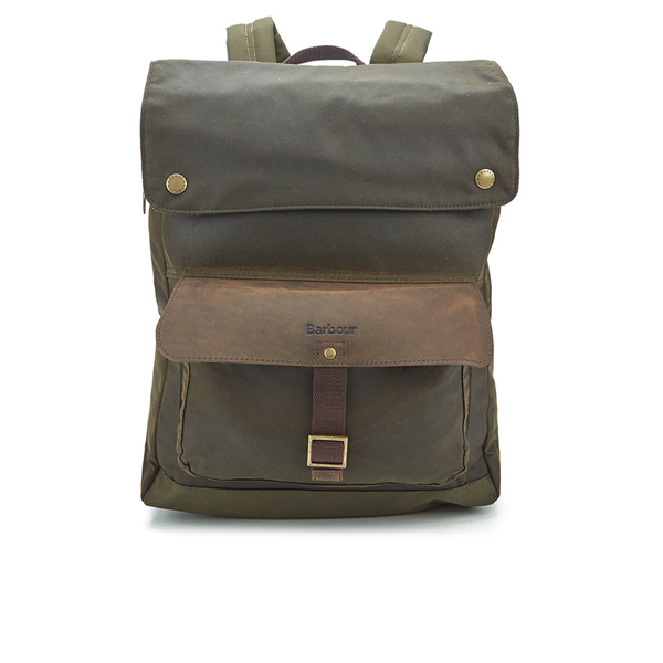 Barbour Men S Wax Urban Backpack Olive
