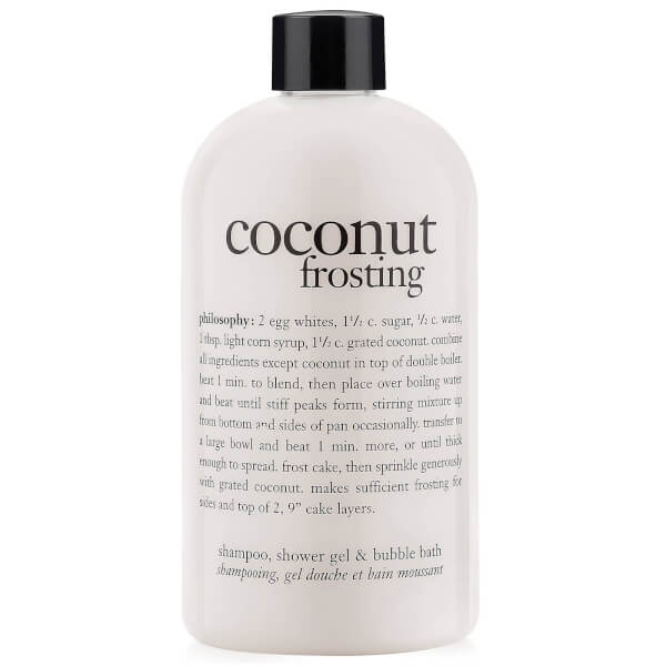 philosophy coconut frosting shampoo shower gel and bubble philosophy hot buttered rum shampoo shower gel amp bubble