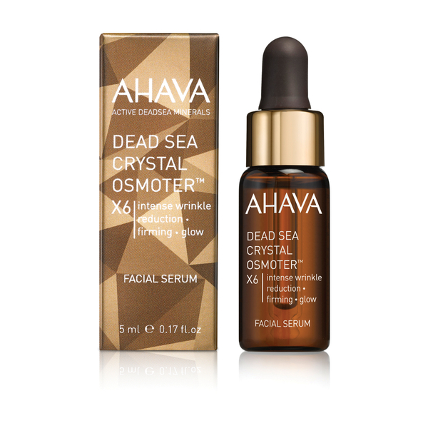 AHAVA Dead Sea Crystal Osmoter X6 Facial Serum 5ml - FREE Gift