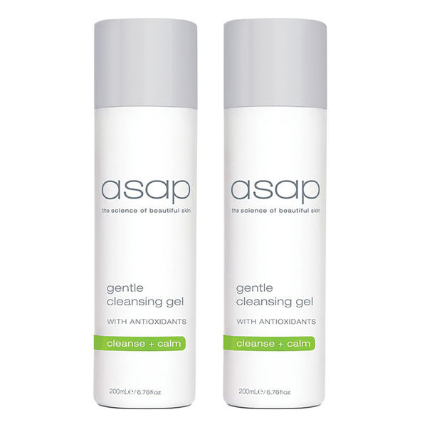 2x asap gentle cleansing gel - 200ml