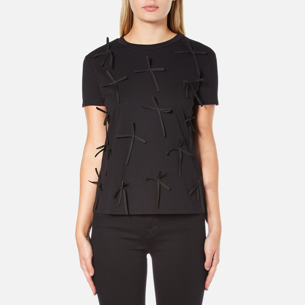 Sportmax Women's Eschilo Bow T-Shirt - Black