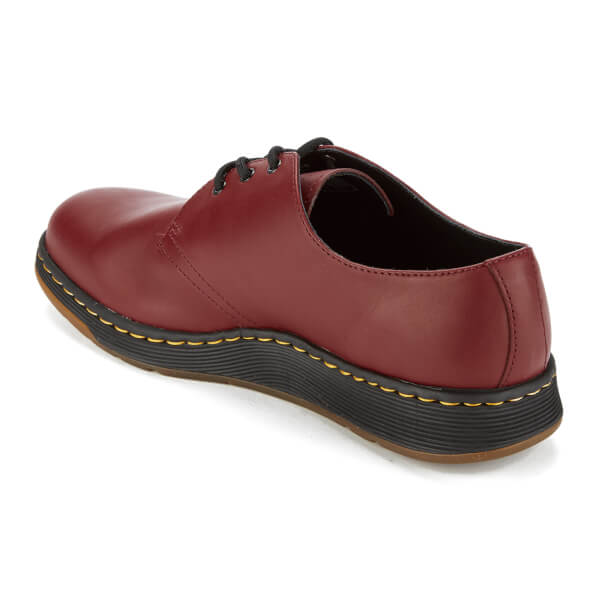 Dr. Martens Cavendish 3-Eye Shoe -White Softy T Full Grain Leather Sale Low Cost 100% Original Perfect For Sale Discount Largest Supplier Cheap Sale Nicekicks 7515o6