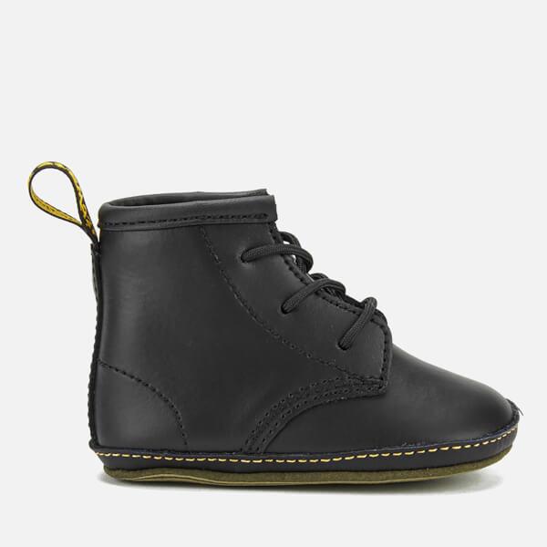 Dr. Martens Babies Auburn Kid Lamper Leather Boots - Black