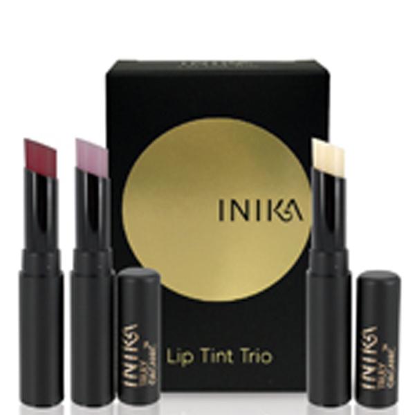 Inika Lip Tint Trio
