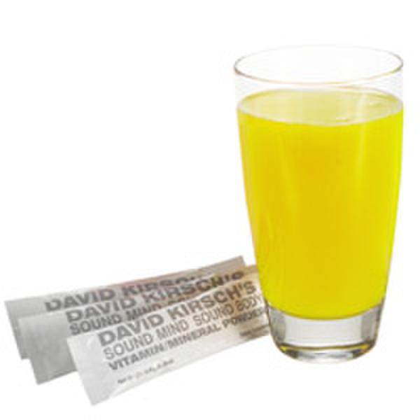 David Kirsch Wellness Vitamin Mineral Powder - Lemon