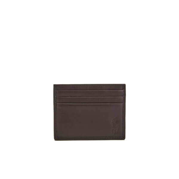 Polo Ralph Lauren Men's Card Case - Mahogany