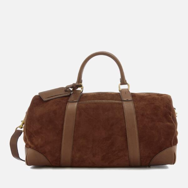 Polo Ralph Lauren Men's Duffle Bag - Suede Snuff